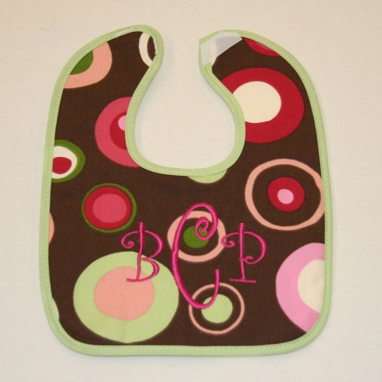 Custom Baby Bib Galaxy